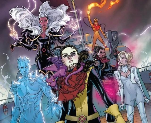 Marvel Comics Marauders #1 Review