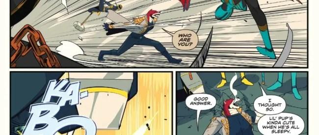 Omega Rangers Defeat Dayne