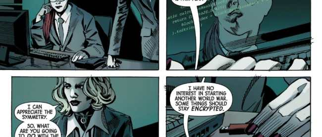 Web Of Black Widow #3 Review