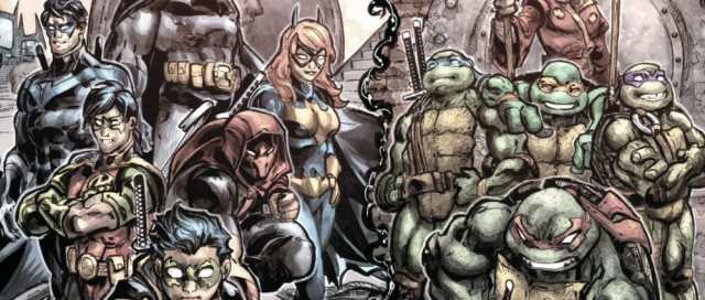 Batman Teenage Mutant Ninja Turtles III Family Moment