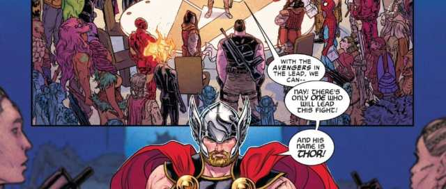 War Of The Realms Thor Steps Up