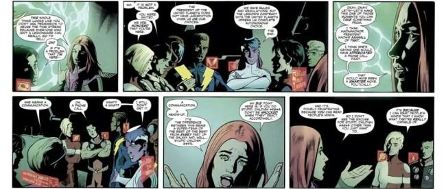 Brian Bendis Legion of Super-Heroes Non-Stop Talking