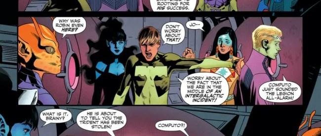 DC Comics Legion of Super-Heroes #3 Review