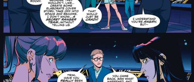Mighty Morphin Power Rangers #47 Review