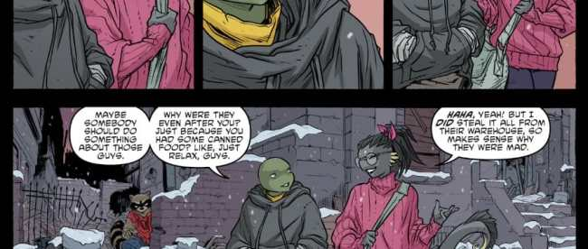 Teenage Mutant Ninja Turtles #101 Review