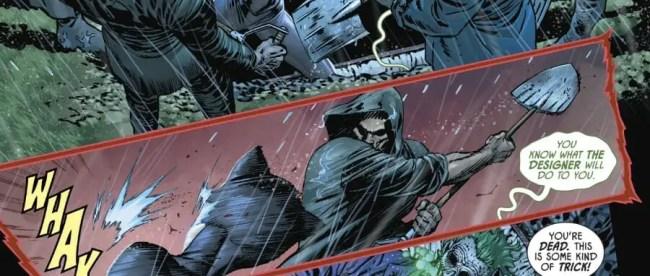 Batman #88 Joker Corpse
