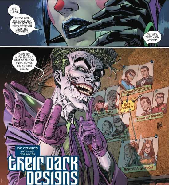 Batman 89 Joker Knows Batman Family Identities