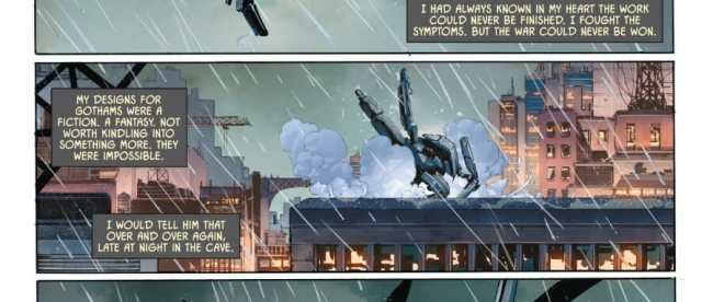 Bruce Wayne Remembers Alfred Pennyworth