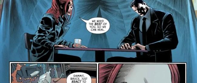 Batman Pennyworth RIP Barbara Gordon Calls Out Bruce Wayne