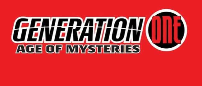 Generation One: Age of Mysteries #1 Cover