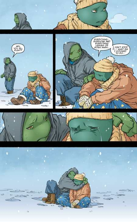 Teenage Mutant Ninja Turtles 103 Leonardo Michelangelo Talk