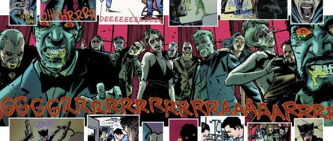 Catwoman #21 Zombie Horde