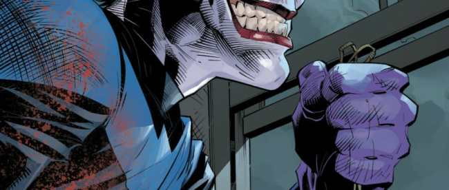 Nightwing #70 Joker Crystal
