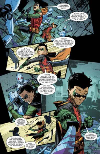 Robin 80th Anniversary 100-Page Super Spectacular Tim Drake Moment