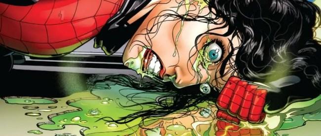 Spider-Woman #1 Power Problems