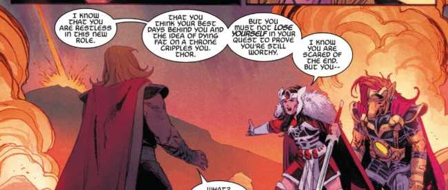 Thor #4 Lady Sif Sees All