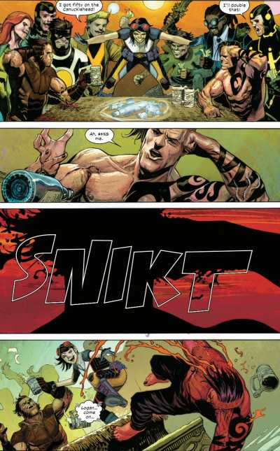 X-Force #9 Moment