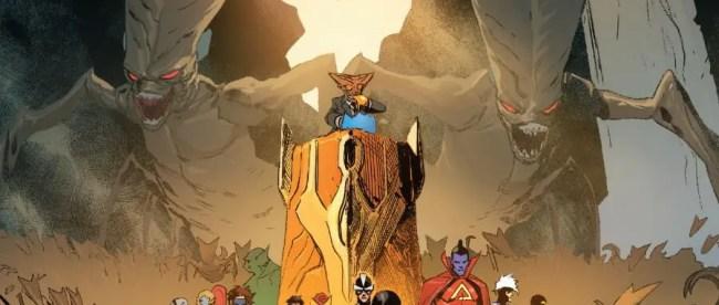 X-Men #9 King Broo