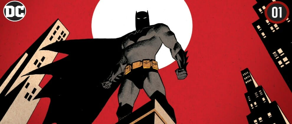 Batman The Adventure Continues Chapter 1 Feature Cover