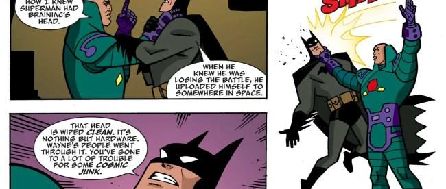 Batman The Adventures Continue #2 Lex Luthor