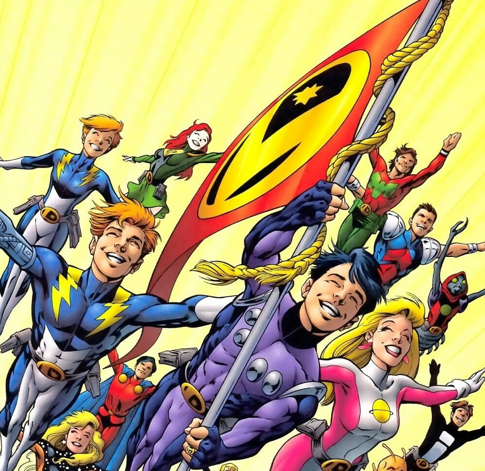 Legion of Super-Heroes Continuity as … a Board Game?