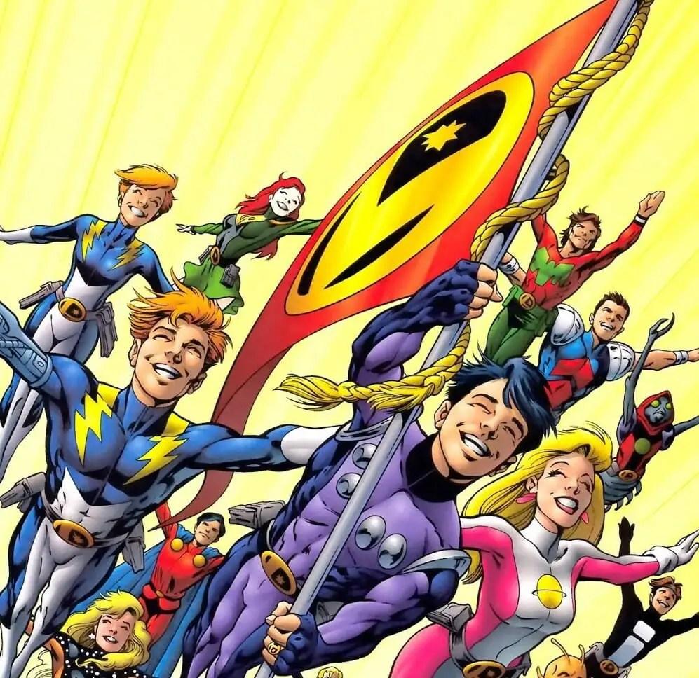 Legion of Super-Heroes Group Shot