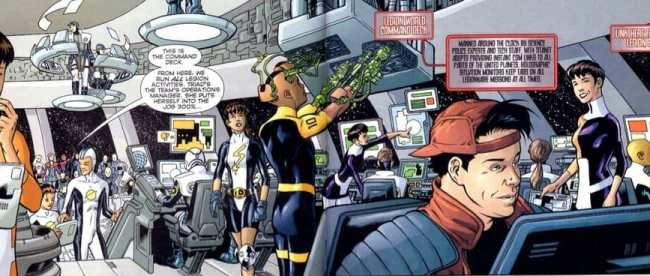 Legion Secret Files 3003 - Legion World Headquarters