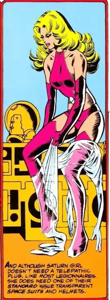 Legion of Super-Heroes Trans Suit