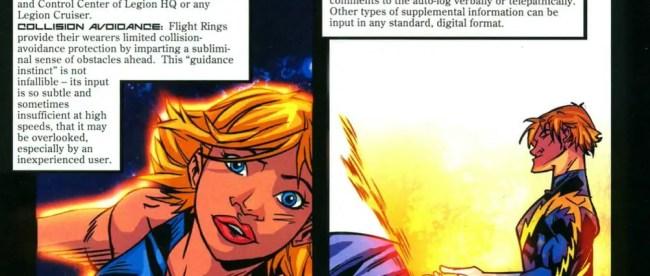 Legion of Super-Heroes Flight Ring