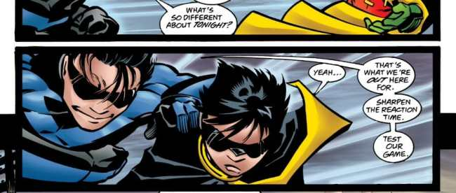 Nightwing #25 Nightwing Robin Quality Time