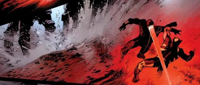 X-Men: Schism 4 Cyclops vs Wolverine