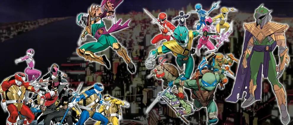 Comic Book Spotlight: Mighty Morphin Power Rangers/Teenage Mutant Ninja Turtles