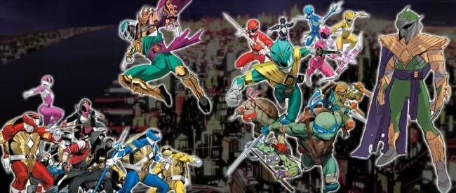Spotlight: Mighty Morphin Power Rangers/Teenage Mutant Ninja Turtles