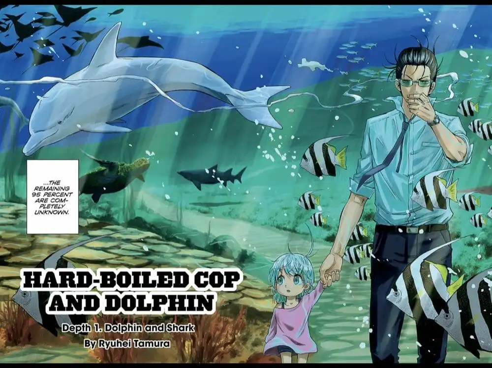 Hard Boiled Cop and Dolphin