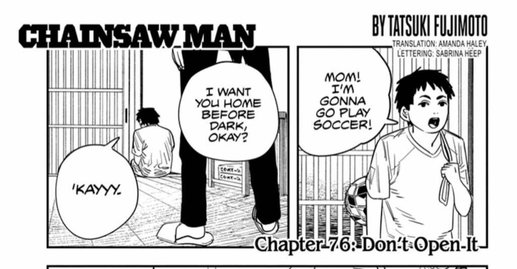 Chainsaw Man Chapter 76 Review