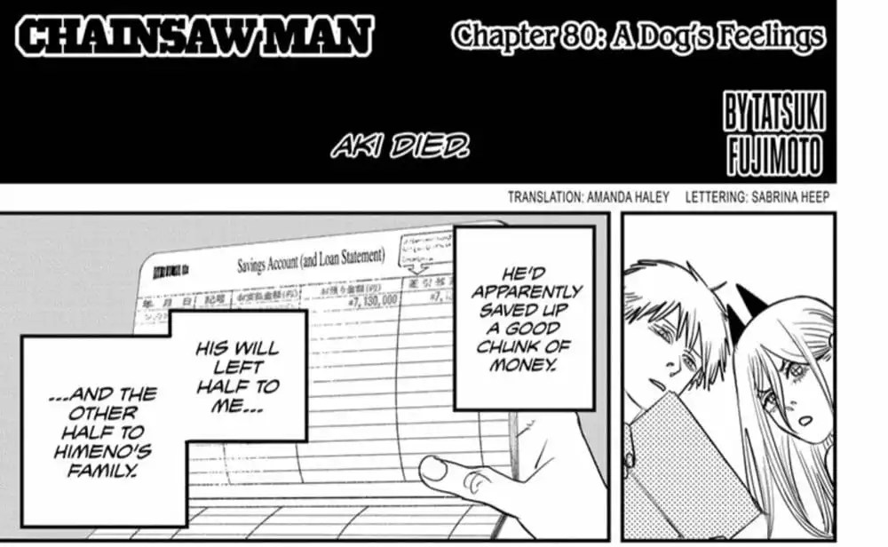 Chainsaw Man Chapter 80 Review