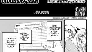 Shonen Jump Chainsaw Man Chapter 80 Review