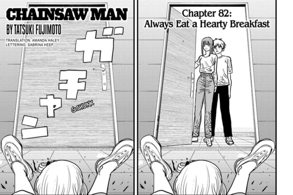 Shonen Jump Chainsaw Man Chapter 82 Review