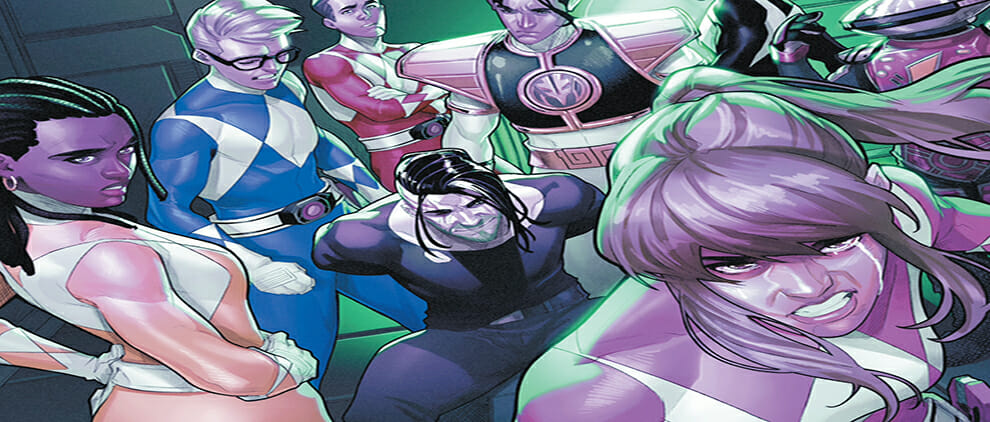 Mighty Morphin Power Rangers #52 Review