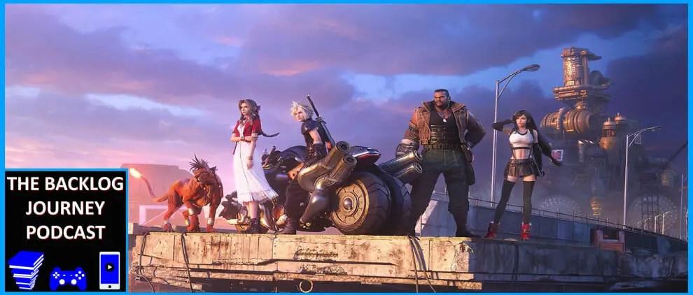 The Backlog Journey Podcast Ep. 3 – Final Fantasy VII Remake