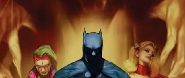 Batman Fear State: Alpha #1 Cover