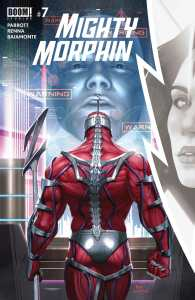 Mighty Morphin #7 Cover