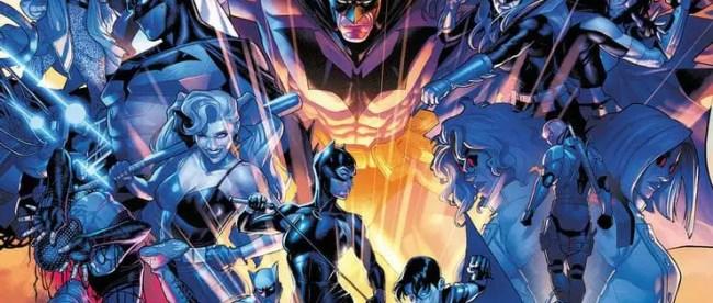 Batman: Fear State Omega #1 Cover