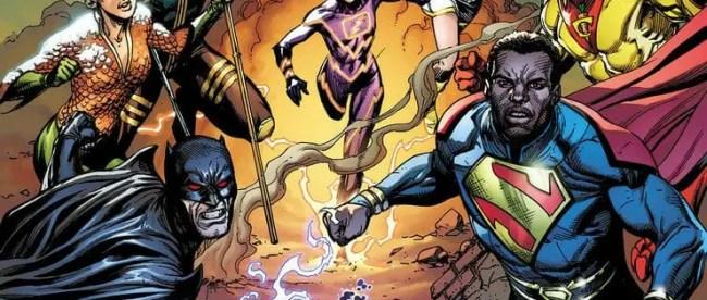 Justice League Incarnate #1 Cover