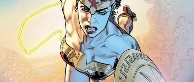 Wonder Woman: Evolution #1 Cover
