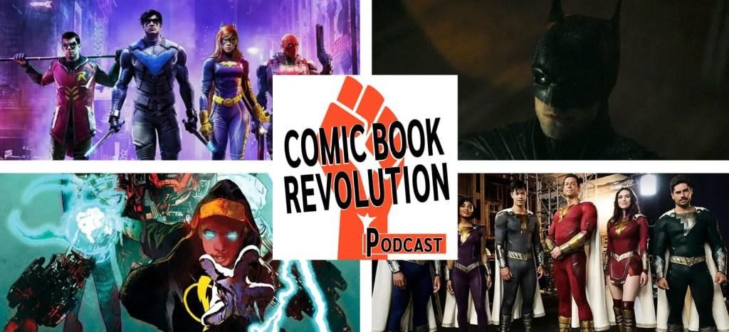 Comic Book Revolution Podcast Episode 85 – DC FanDome 2021