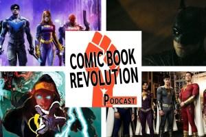 Comic Book Revolution Podcast DC FanDome 2021