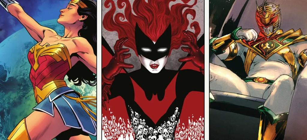 MMCBR: Batman Urban Legends #8, Power Rangers #12, Wonder Woman #780