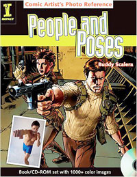 Comic Artist's Photo Reference: People & Poses - Anatomy Book