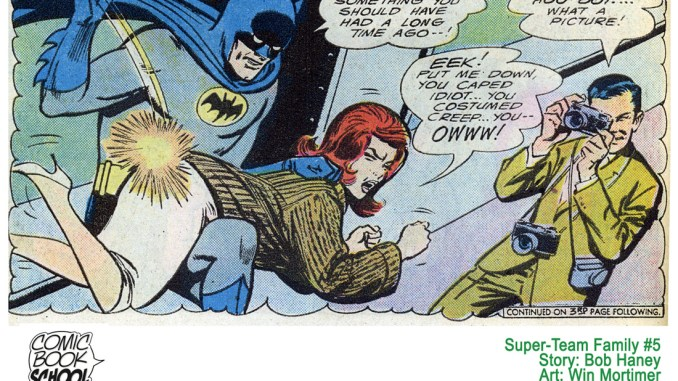 Batman spanking
